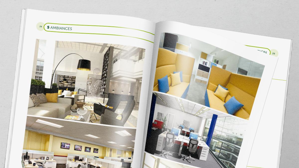 the hub brochure