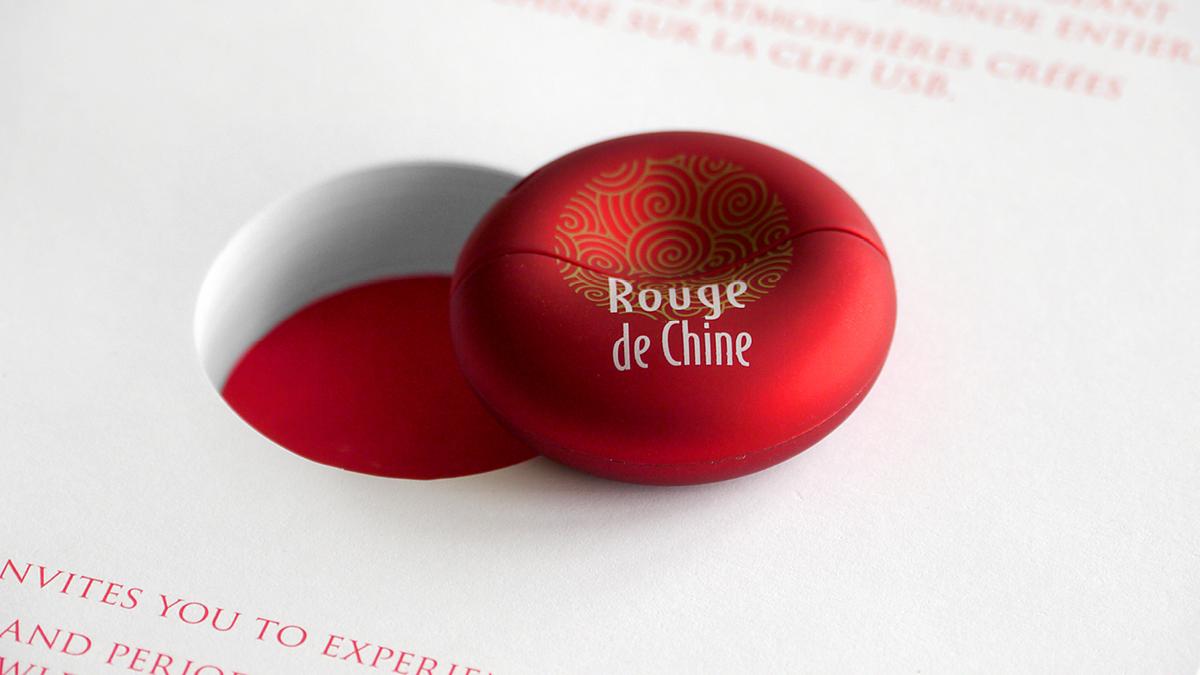 rouge de chine usb