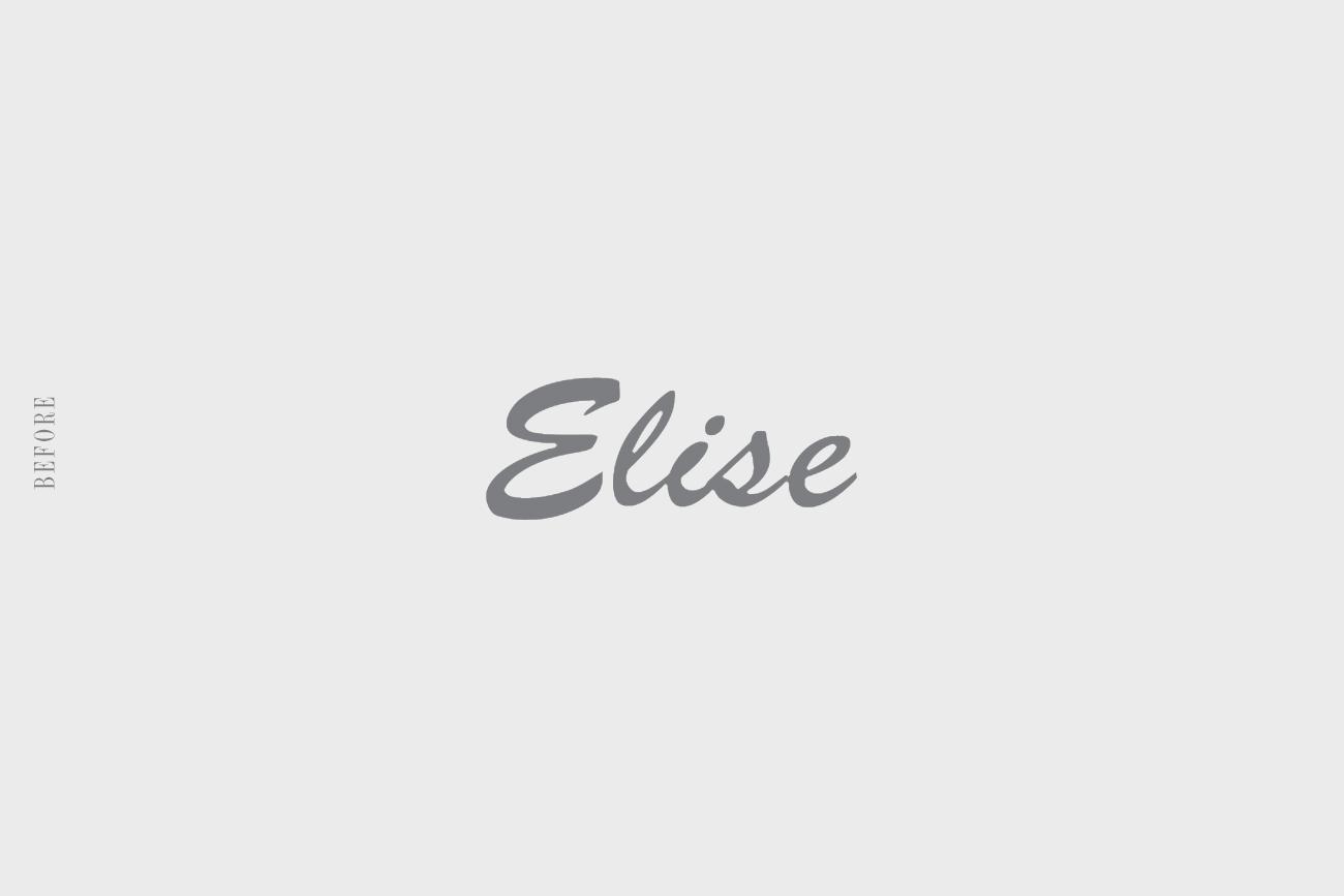Chocelise - Old logo