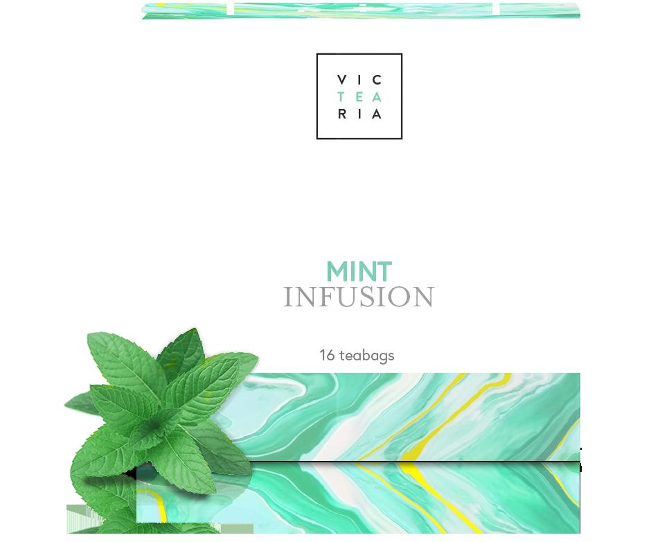 Victeria - Tea box mint