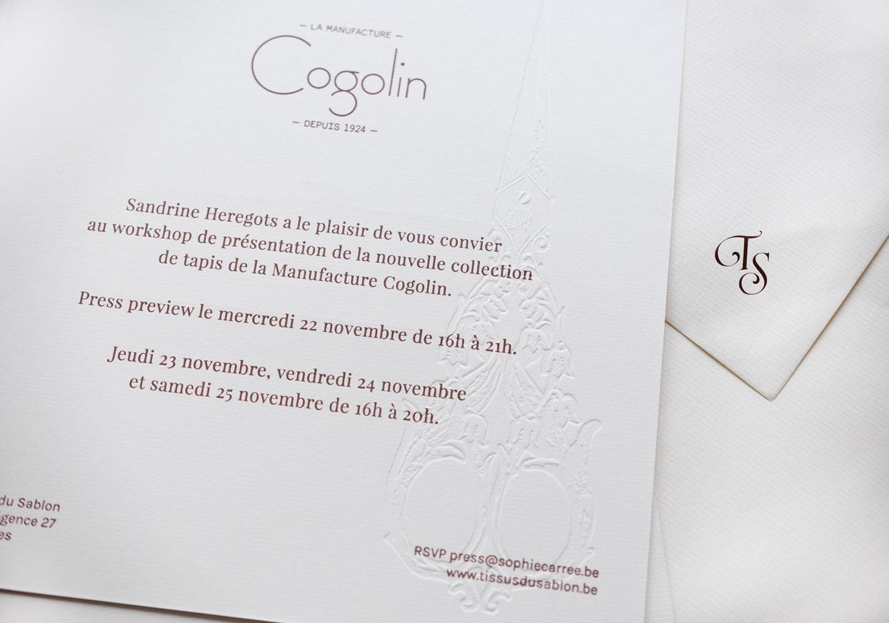 Cogolin - Tissus du Sablon - Paper