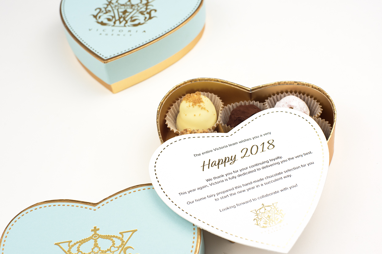Camille Chocolates - packaging