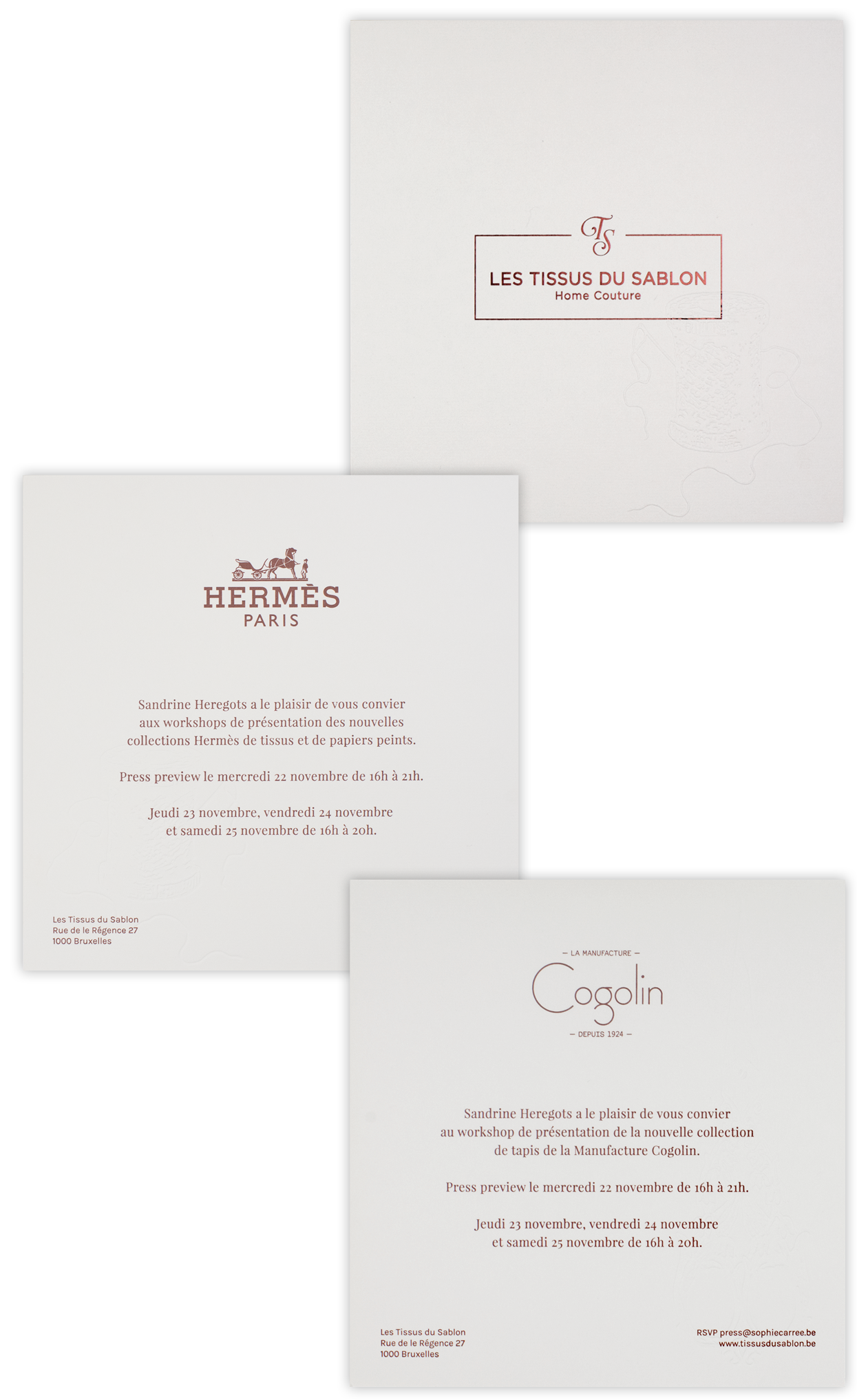 Hermès - Tissus du Sablon - Paper