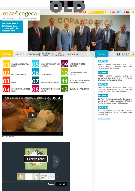 old copa cogeca website